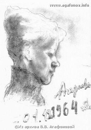 Е.П. Бахметьева. 1964 г.